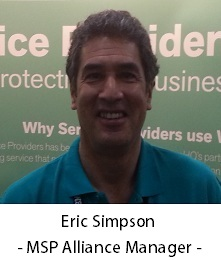 TitanHQ MSP Alliance Manager, Eric Simpson